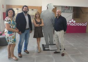 Francisca Padilla, Andrés Rodríguez, Carmen Castilla y Manuel Salazar